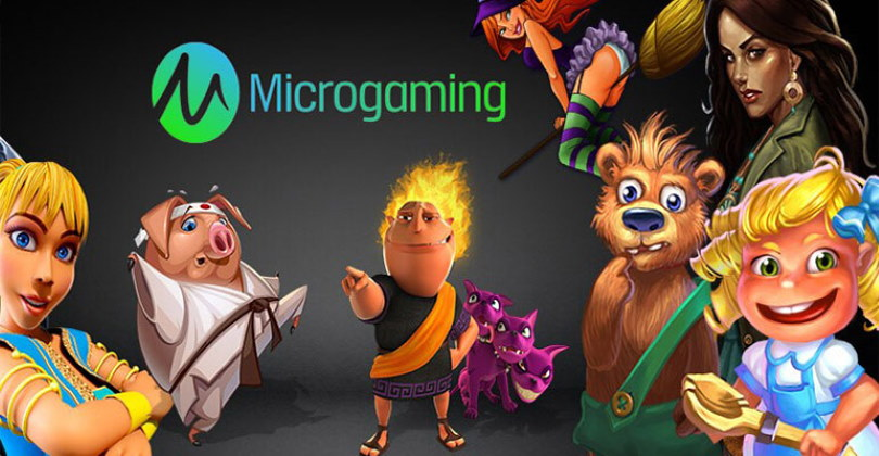 Microgaming Software Delevoper Logo Games