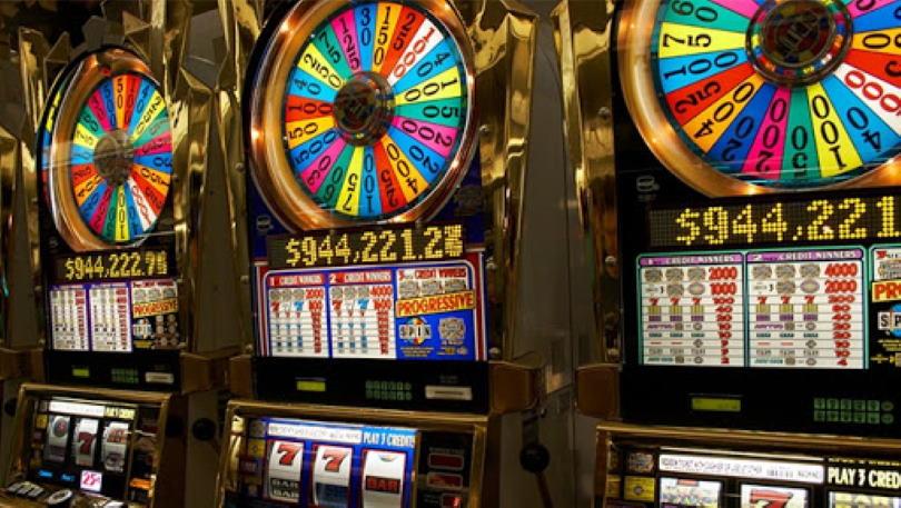 Progressive casino slots