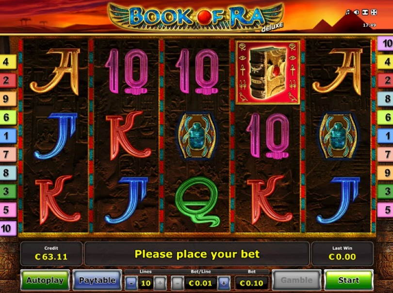 Slot Games Book Of Ra